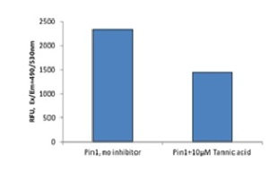 Pin1 inhibitor graph