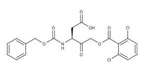 structure Z-Asp-CH2-DCB